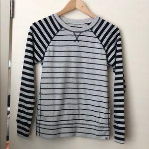 Eddie Bauer striped sweatshirt